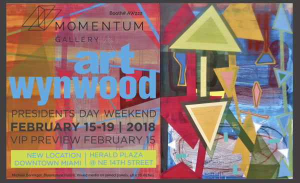 Art Wynwood, Here We Come!, For complimentary tickets to this Miami Art Fair, please contact Momentum Gallery!