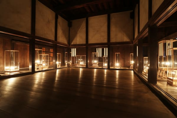 """Gale / 2017 """"Asia Corridor"""" at UNESCO World Heritage Site Nijo Castle"""