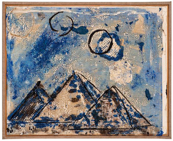 Judy Rifka - Pyramid 1; Pyramid 2.
