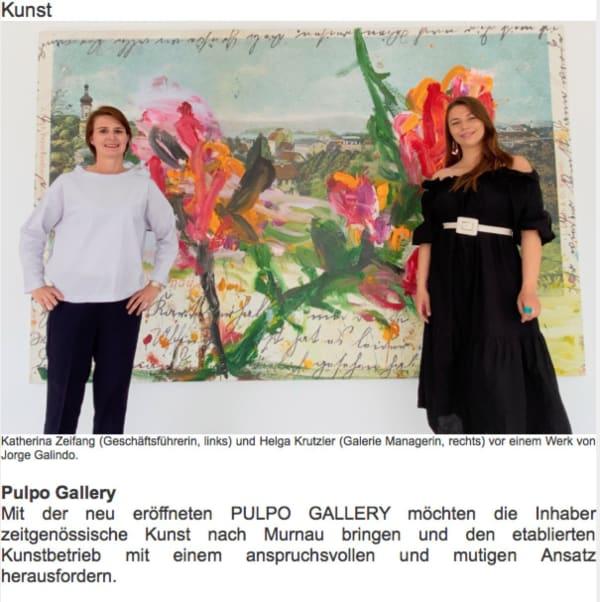 Jorge Galindo at Pulpo Gallery Murnau