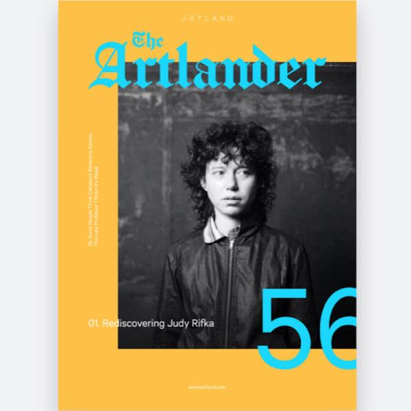 The Artlander: Rediscovering Judy Rifka