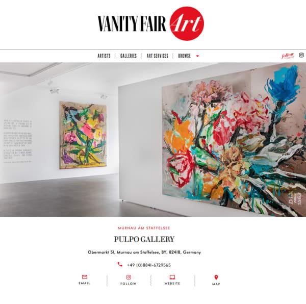 Jorge Galindo: Postcard Paintings in Vanity Fair Art