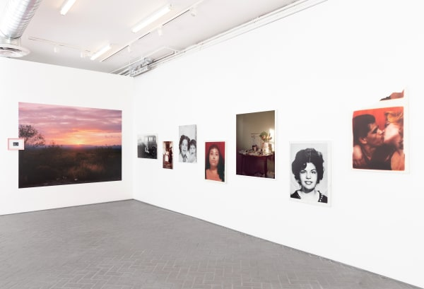 Installation view of Star Montana: By the rivers, I stood and stared into the Sun, at Shulamit Nazarian, Los Angeles, May 15–June 26, 2021