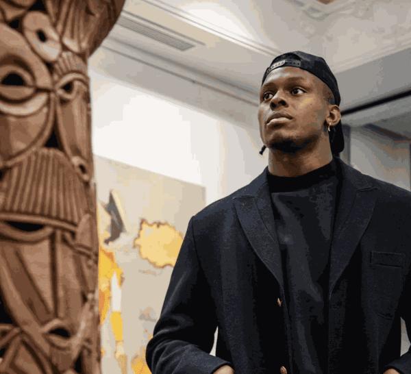 Maro Itoje at Signature African Art Gallery