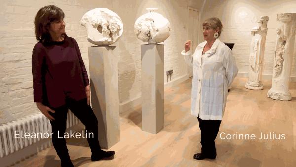 Eleanor Lakelin in conversation with Corinne Julius