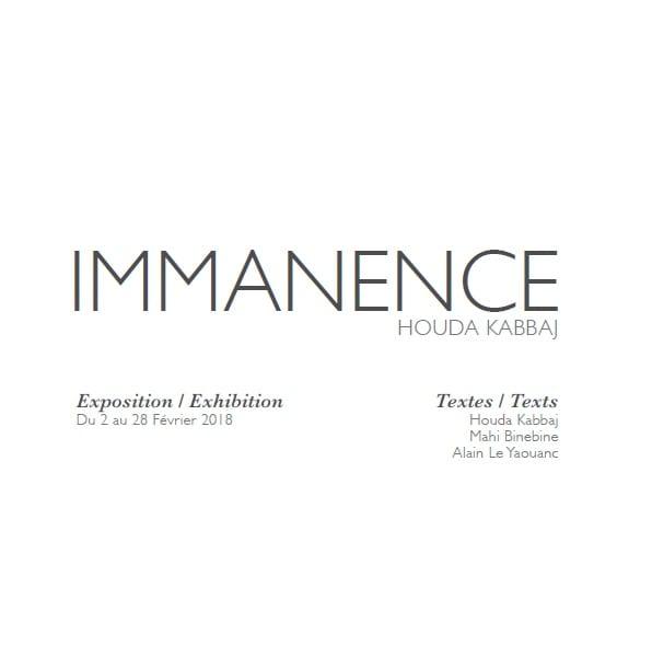 Catalogue Immanence
