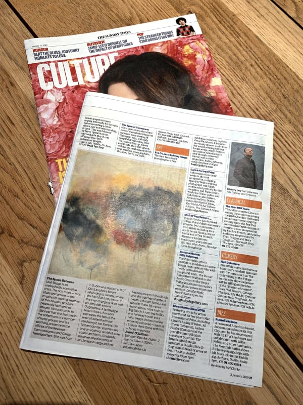 SUNDAY TIMES: LEAH BEGGS REVIEW