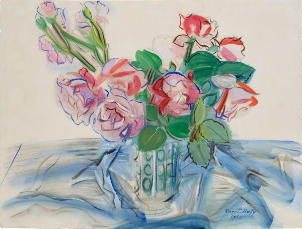Raoul Dufy, Roses Rouges, 1941
