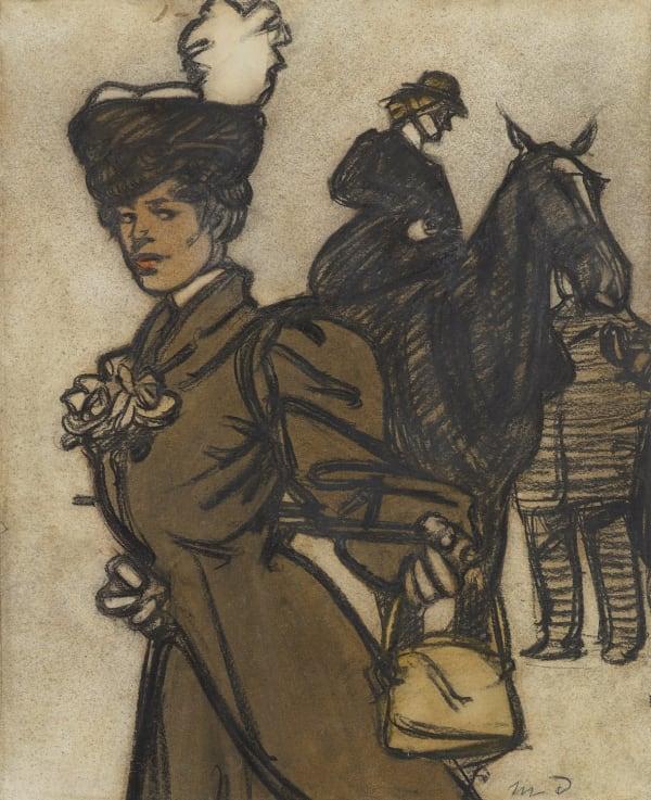 Maxime Dethomas, Jeune femme et amazone