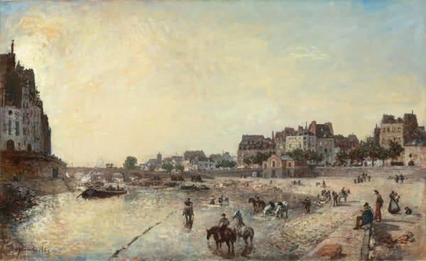 Johan-Barthold Jongkind, Le Quai des Célestins, 1869