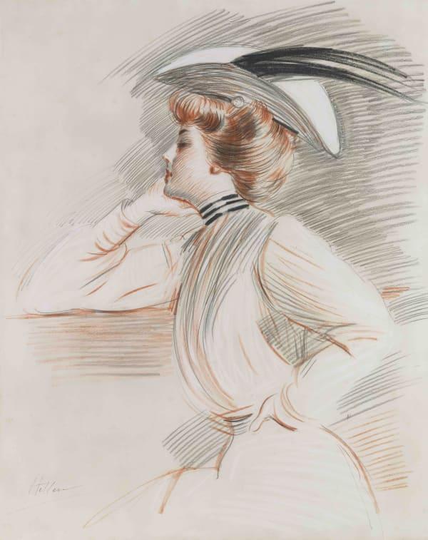 Paul César Helleu, Portrait d'Emily Stuart Taylor
