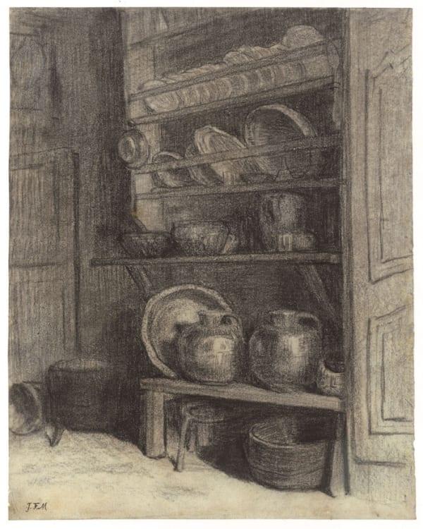 Jean François Millet, Le vaisselier de Gruchy