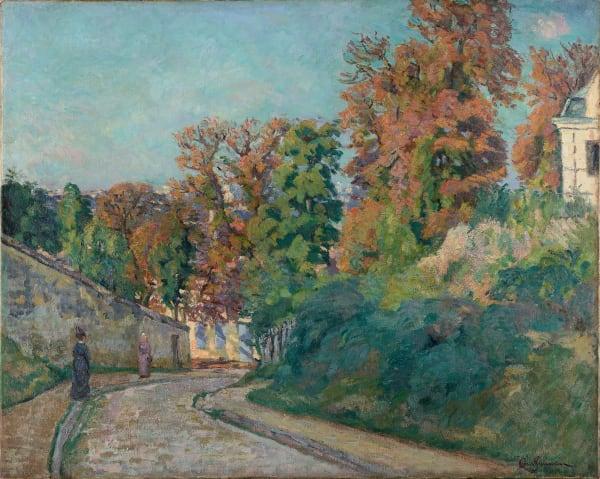 Armand Guillaumin, Promenade en Ile-de-France, c.1875