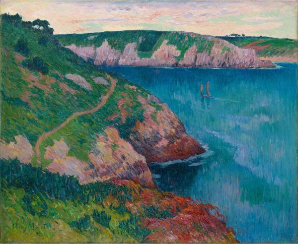 Henry Moret, La Rivière de Belon, 1896