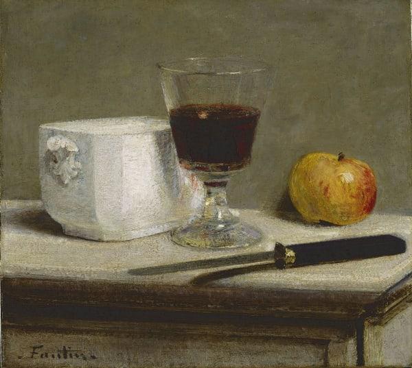 Henri Fantin-Latour, Nature morte au verre de vin