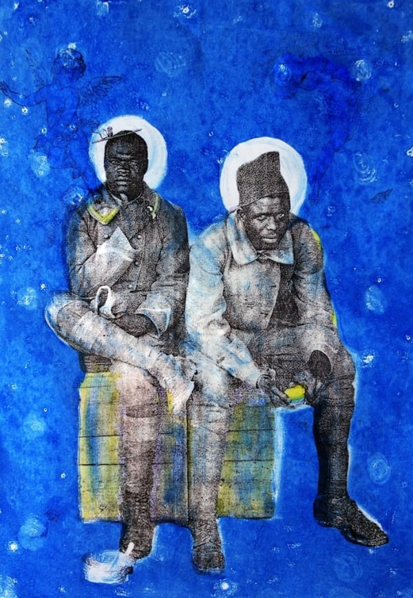 THE SUDANESE ARTIST UNVEILING THE FORGOTTEN HISTORY OF 20TH CENTURY SLAVERY