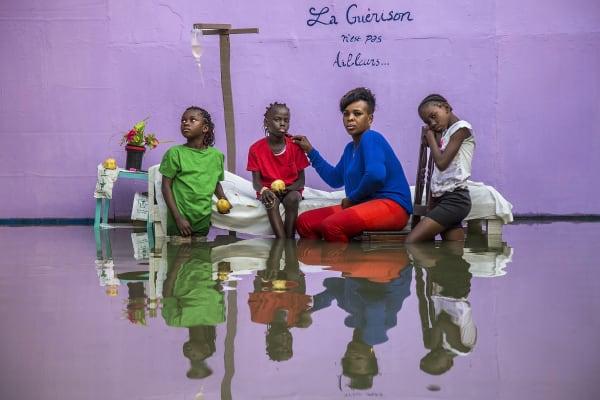 Portrait of Congolese Photographer Baudouin Mouanda