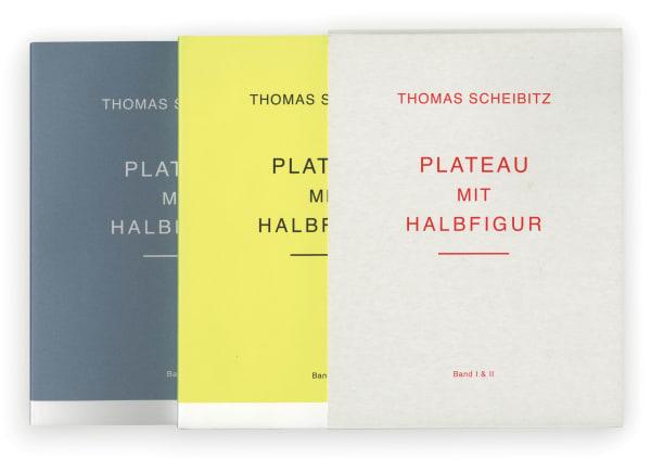 Thomas Scheibitz: Plateau mit Halbfigur