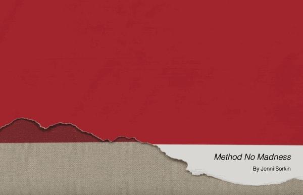 Analia Saban: Method No Madness