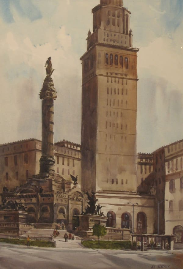 Al Krnc, Terminal Tower's Soldiers & Sailors