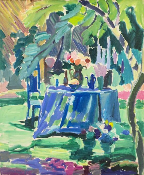 Joseph O'Sickey, Small Summer Garden, 1987