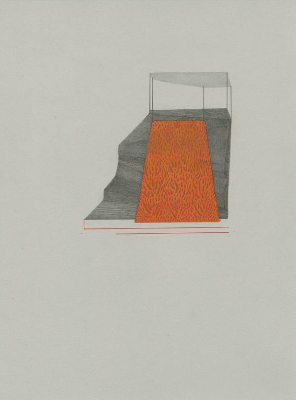 Kristina Paabus, Speculative Structures (Haze) 1, 2019