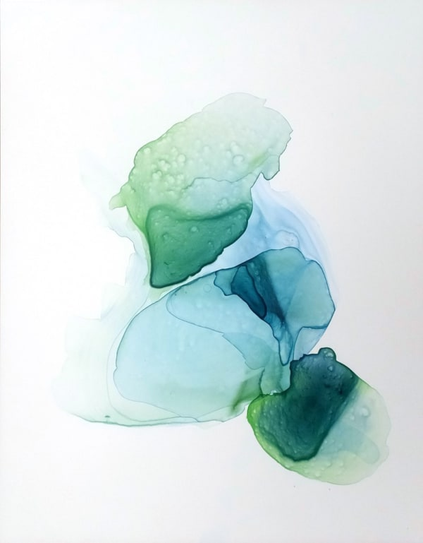 Christine Mauersberger, Gemstones: Verdigris & Blue, 2017