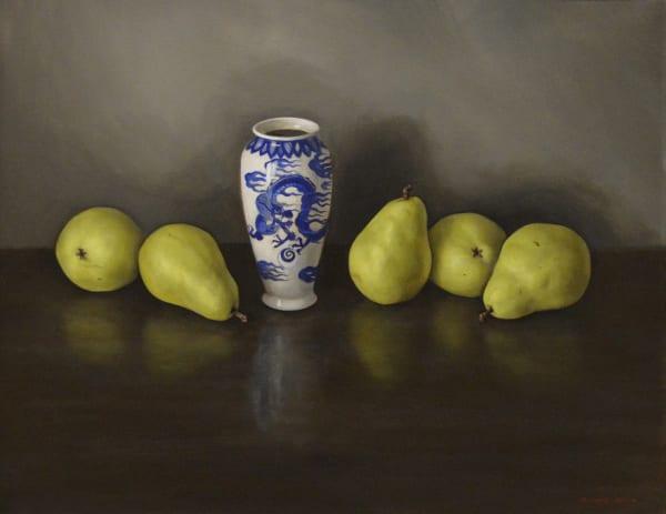Eric Kunde, Pears & Vase, 2014