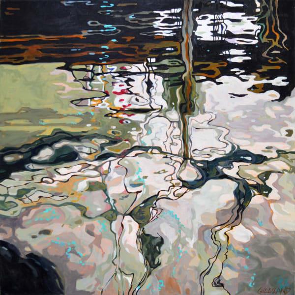 Pamela Gilliland, Water Reflection 4, 2019