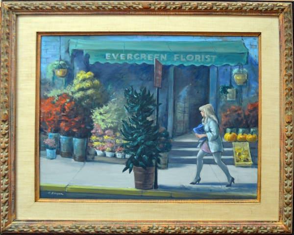Clyde Singer, Evergreen Florist, 1969