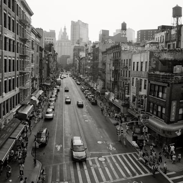 Garie Waltzer, NY/Chinatown, E. Broadway & Market, 2012