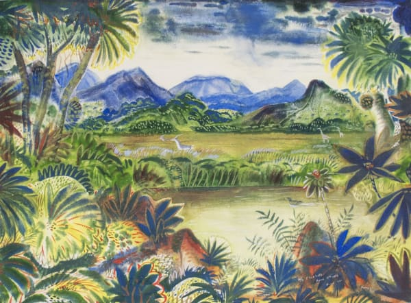Paul Travis, Untitled African Landscape, 1959