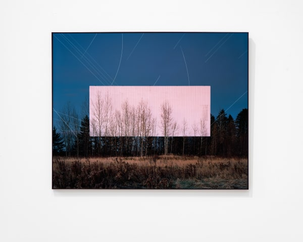 Philippe Braquenier, 'The planes help to prove the plane' (2018). Beeld The Ravestijn Gallery / Natascha Libbert