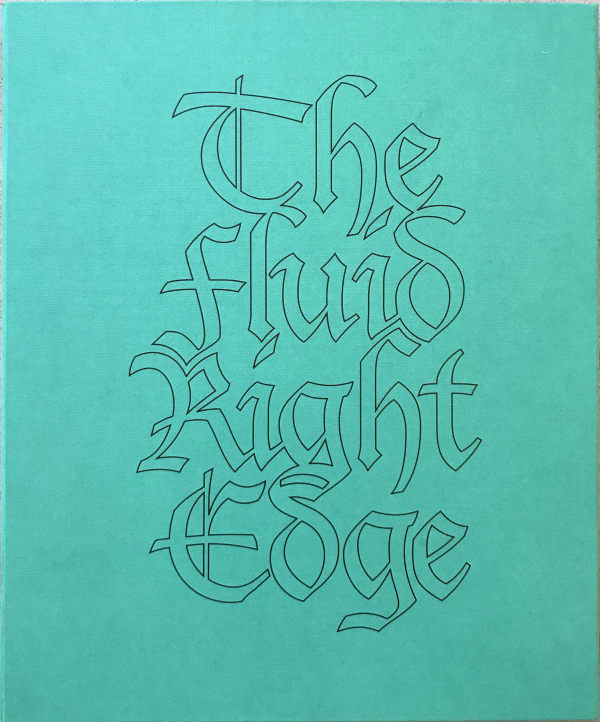 Special edition book 'The Fluid Right Edge'