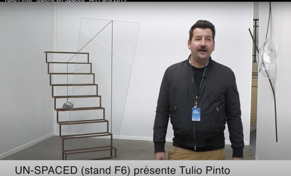 Tulio Pinto's solo booth on the occasion of Art Paris Art Fair 2019