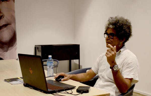 Artist talk with Juan Carlos Alom