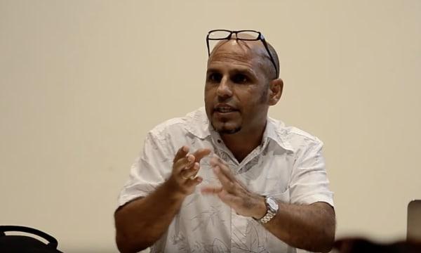 Artist talk with Douglas Pérez Castro