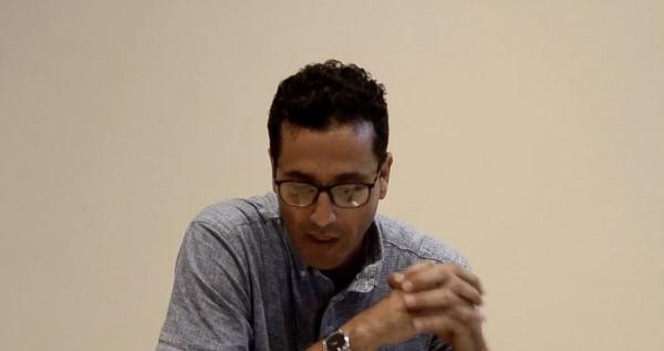 Artist talk with José Ángel Vincench