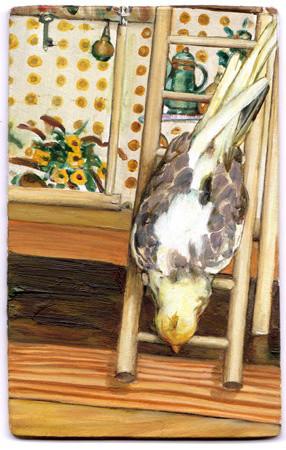 Leopold RABUS, Oiseau n° 7, 2012