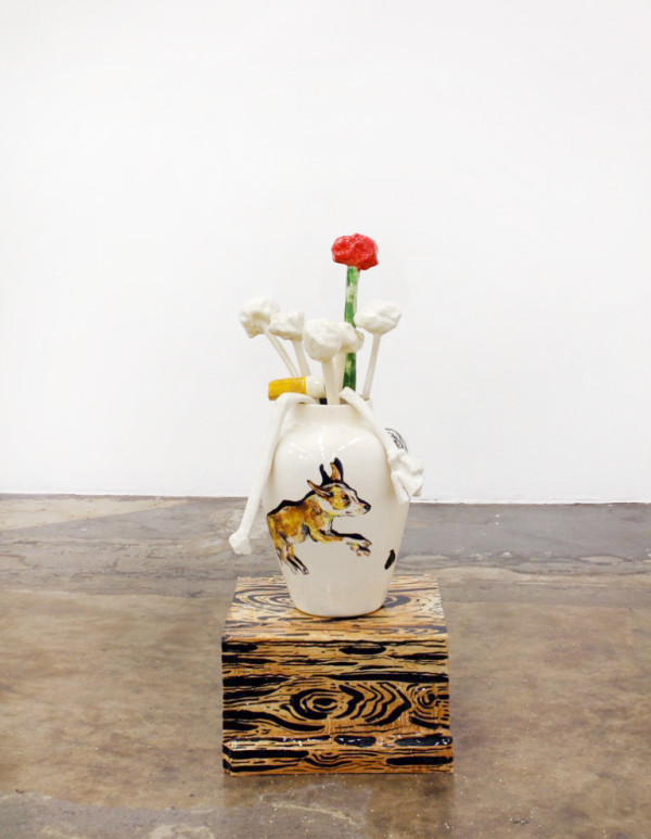 Florentine & Alexandre LAMARCHE-OVIZE, Vaso sobre caja, 2016