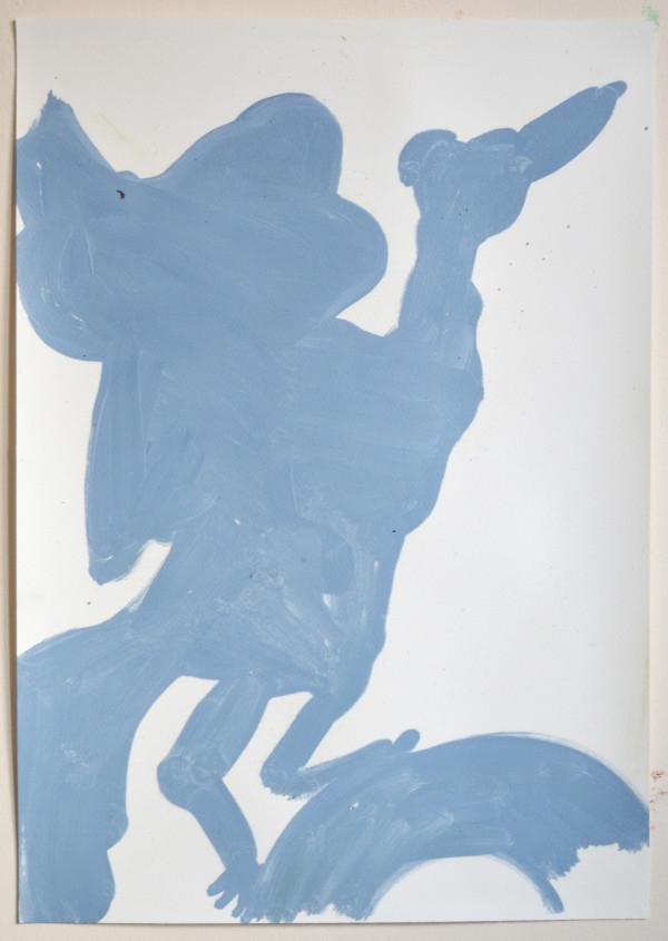 Ed Burkes, Blue Bird , 2018