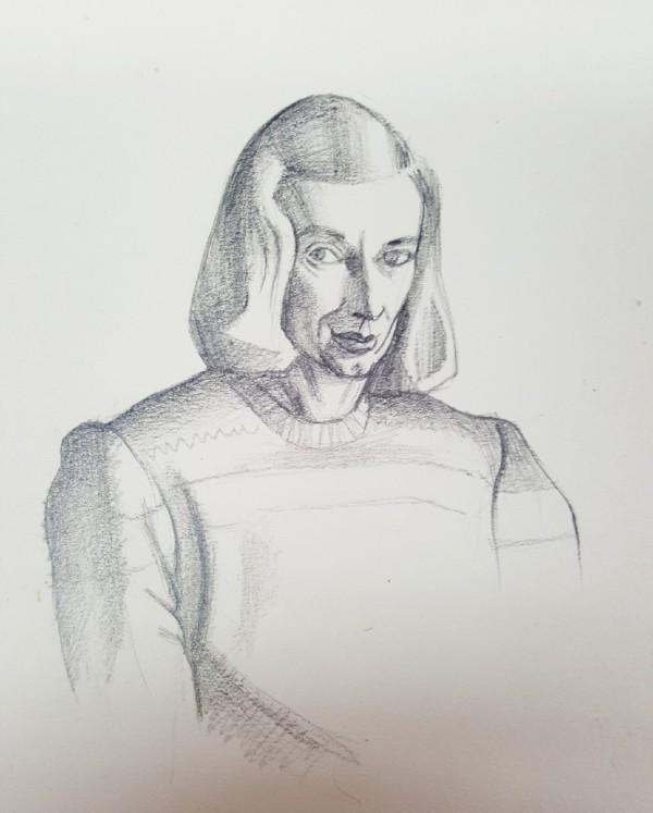 Rita Angus, Untitled [Self Portrait], n.d.