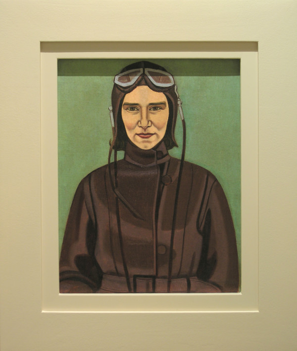 Rita Angus, The Aviatrix, 1933