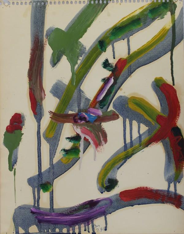Allen Maddox, Untitled, 1985