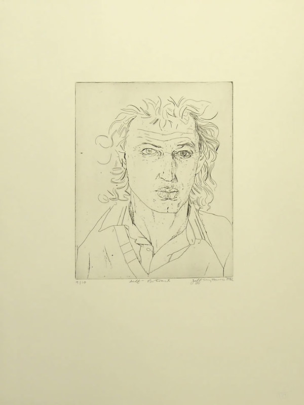 Jeffrey Harris, Self Portrait, 1982