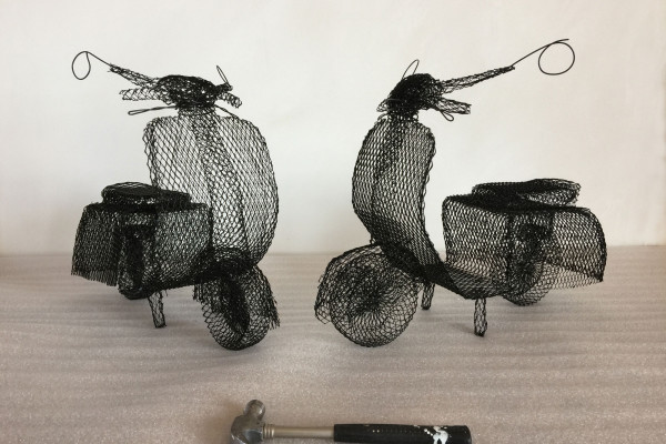 Wire mopeds