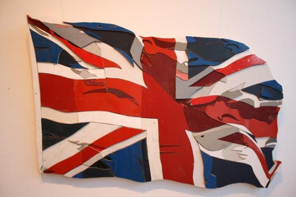 Waving Flags 1 by Diederick Kraaijeveld