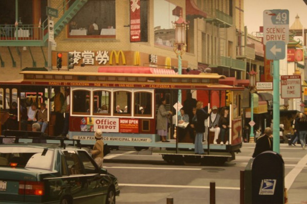 China Town Cable Car, San Francisco by Christian Marsh