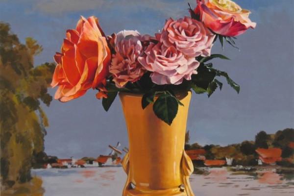 Roses Monet Sky - Ben Schonzeit