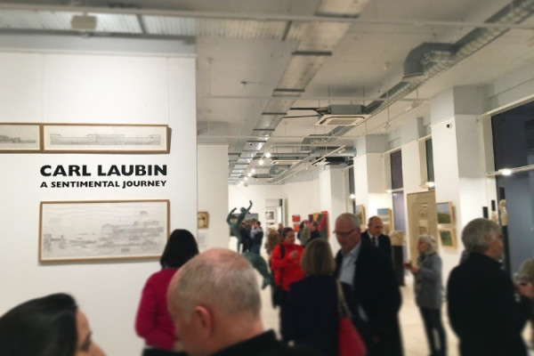 Carl Laubin: A Sentimental Journey Private View